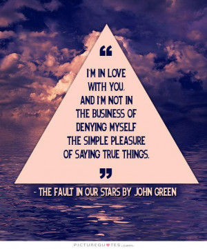 Love Quotes In Love Quotes Im In Love With You Quotes John Green ...