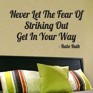 ... -Out-Babe-Ruth-WALL-QUOTE-vinyl-wall-lettering-wall-art-sticker