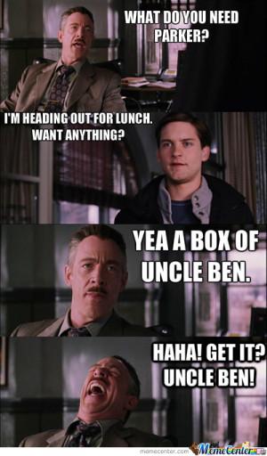 spider man quotes uncle ben quotesgram