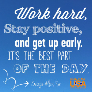 blog Image Monday Quote by George Allen, Sr.