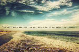 automn, beach, quote, sea, sky, text, typography, water