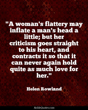 Helen Rowland Quotes | http://noblequotes.com/