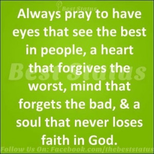 See the best in people...