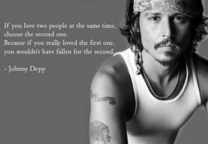 love-the-second-one-johnny-depp-quote