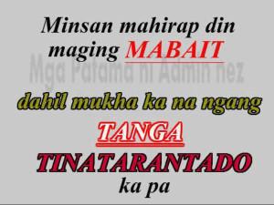 Pacute: Mabait , Tarantado at Tanga