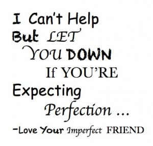 friends let you down quotes