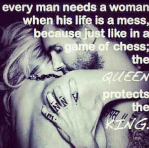Every King needs his Queen!