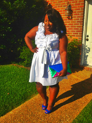Here is how I rocked my white dress: