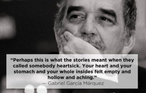 Gabriel Garcí­a Márquez | 15 Profound Quotes About Heartbreak From ...