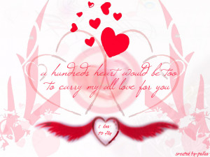 Cute Love quotes wallpaper