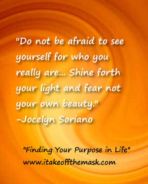 Finding your purpose in life is often one of the most difficult things ...