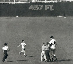 July 25th, 1948. During the first game of a doubleheader at Yankee ...