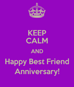 happy anniversary best friend