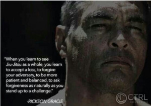 Rickson Gracie #Blacklistbjj #BJJArt Quotes, Art Wisdom, Brazilian ...