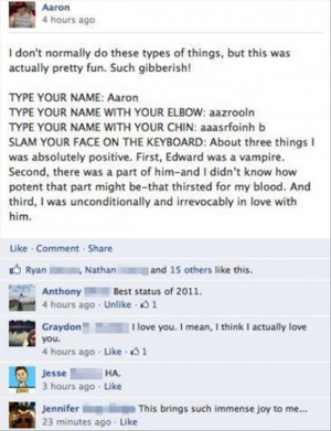 top funny facebook status quotes