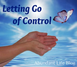 Letting Go Of Control