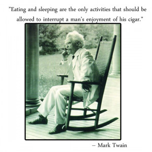 Mark Twain Quotes About Cigars