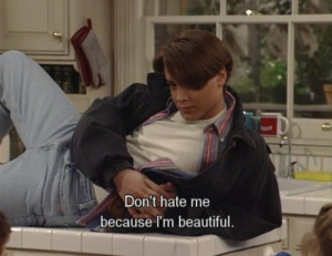 ERIC : Don't hate me because i'm beautiful - boy-meets-world Fan Art