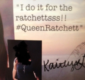 Ratchet Girl Quotes Funny Funny yearbook quotes queen