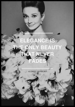 Audrey Hepburn Glamorous Vintage Soul
