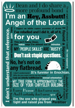 Supernatural   Castiel quotes