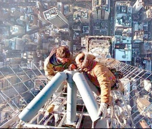 to conquer the fear of heights you must reconize that you have that ...