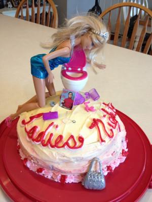 Ladies night out cake.