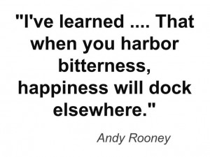 Andy Rooney on happiness. This quote courtesy of @Pinstamatic (http ...