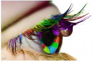 For my lover V: Color my World by * Sortvind