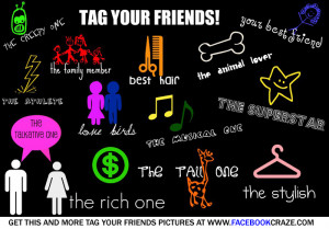 Cool Neon Colour Tag Your Friends Pic For Facebook Friends