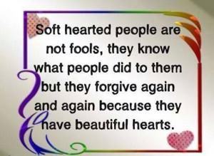 Forgiving heart~