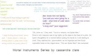 Mortal Instruments Quotes...