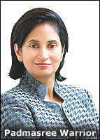 Padmasree Warrior as Obama choice for U.S. CTO: Huge win for Cisco ...