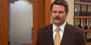Ron Swanson About Women