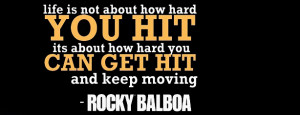 Rocky Balboa Quote Motivation Blog Quotes Picture