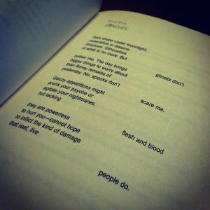 "the-words-unwritten:""Ghosts"" Perfect, Ellen Hopkins"