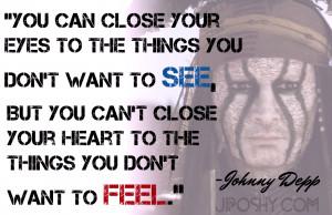 Johnny Depp The Shyest...