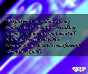 death of my brother quotes