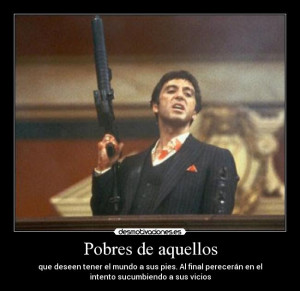 Tony Montana Scarface Pacino Fashion