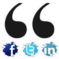 Home › Social Media › 66 Awesome Social Media Quotes