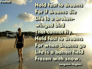 Dreams – Langston Hughes