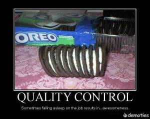 Oreo's Quality Control