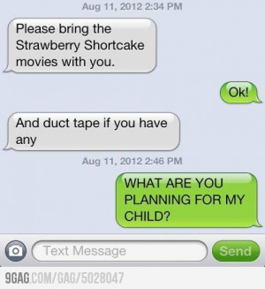 Grandma is babysitting...
