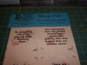 Details about TALKING QUILT FABRIC QUOTES