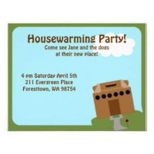 Funny Housewarming Party...