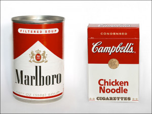 Marlboro Soup and Campbell's Cigarettes