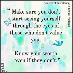 Self worth #quote