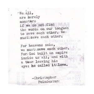 Crumble life: I will fall in love with your pieces poem 13 written by ...