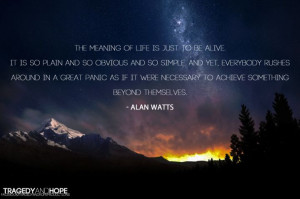Alan Watts on Zen, a thinker of life.