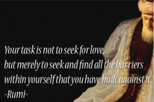 Rumi Love Quotes and Sayings
